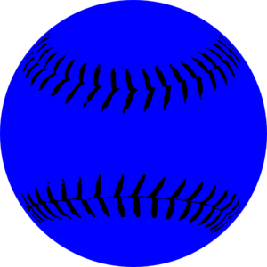 300x300 Softball Clip Art