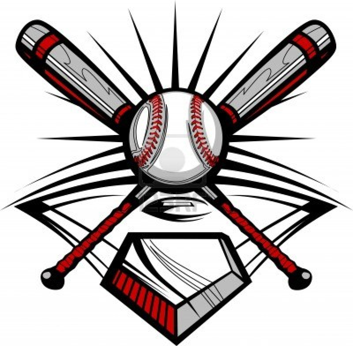 1200x1176 Softball Clip Art 2