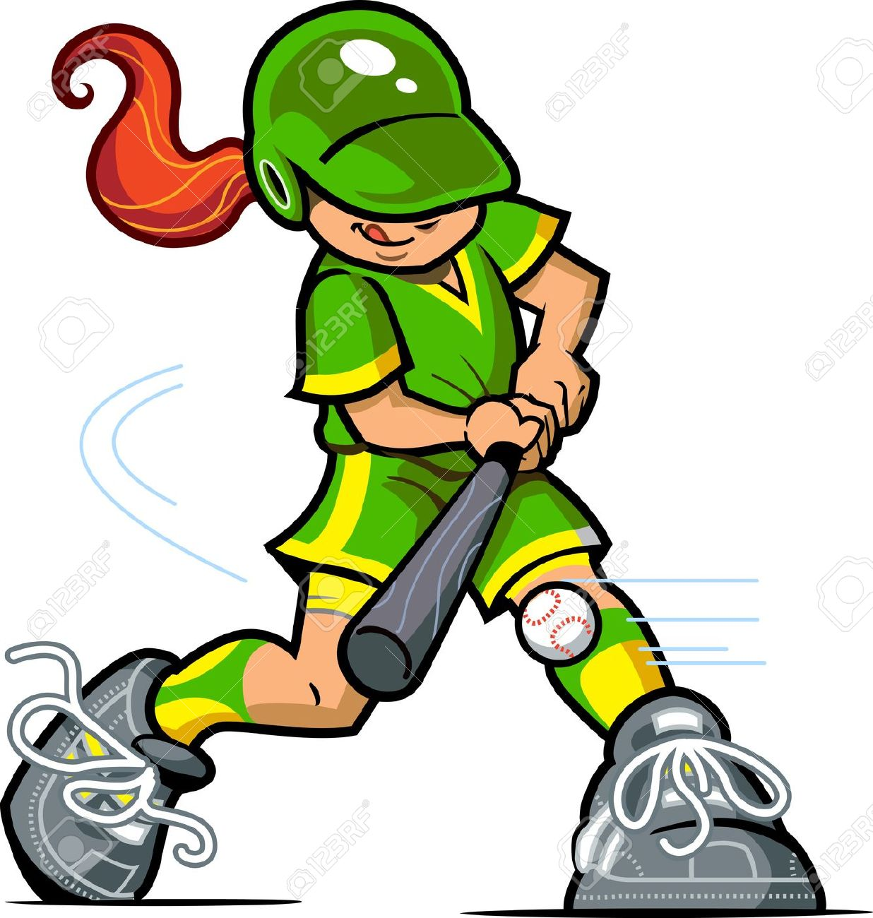 1236x1300 Softball Clip Art