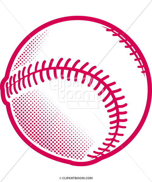 500x600 Baseball Clipart Softball