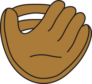 300x274 Baseball Glove Softball Glove Clipart Kid