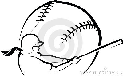 400x248 Girls Fastpitch Softball Clipart