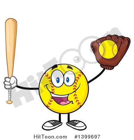 450x470 Male Softball Clipart