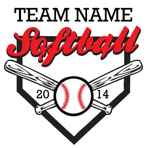 500x500 Softball Download Vector And Clip Art