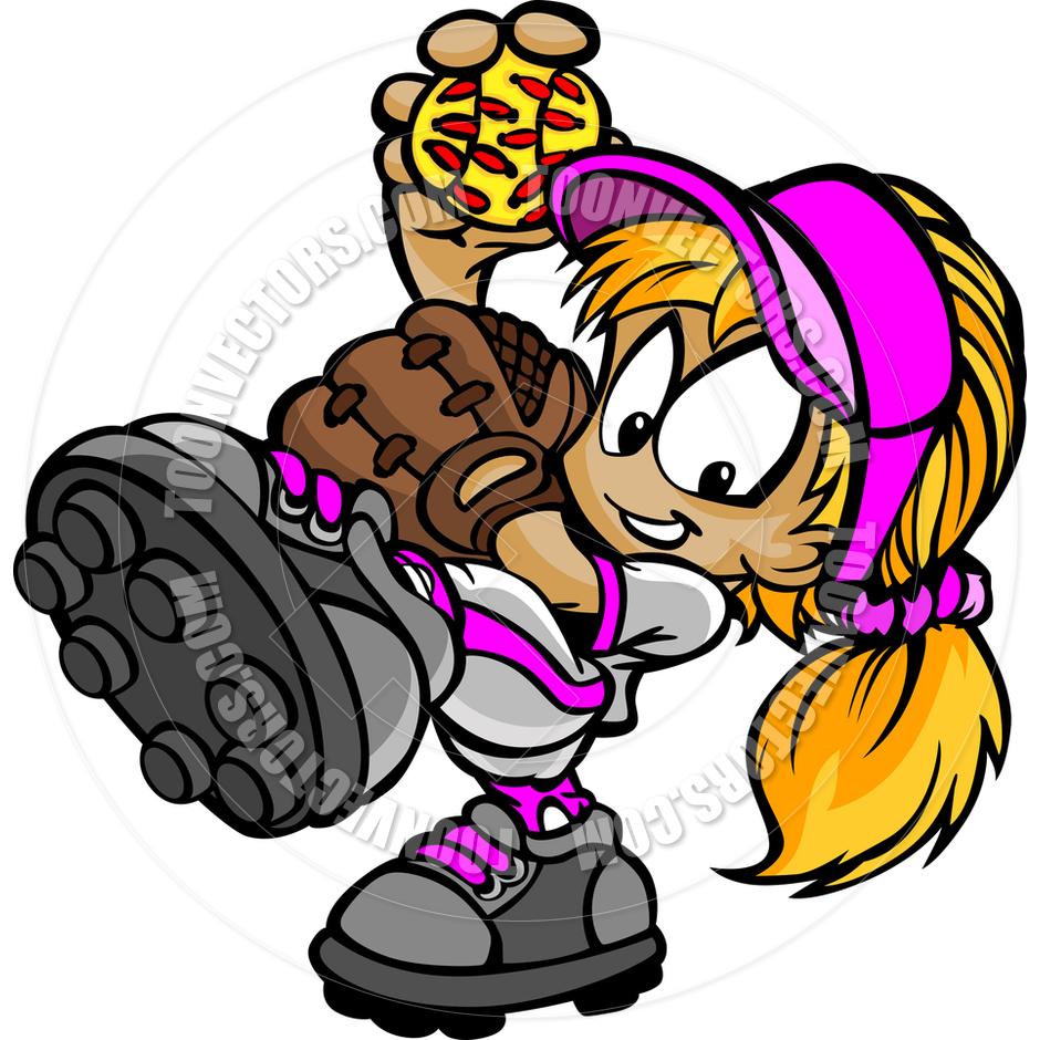 940x940 Women Clipart Softball