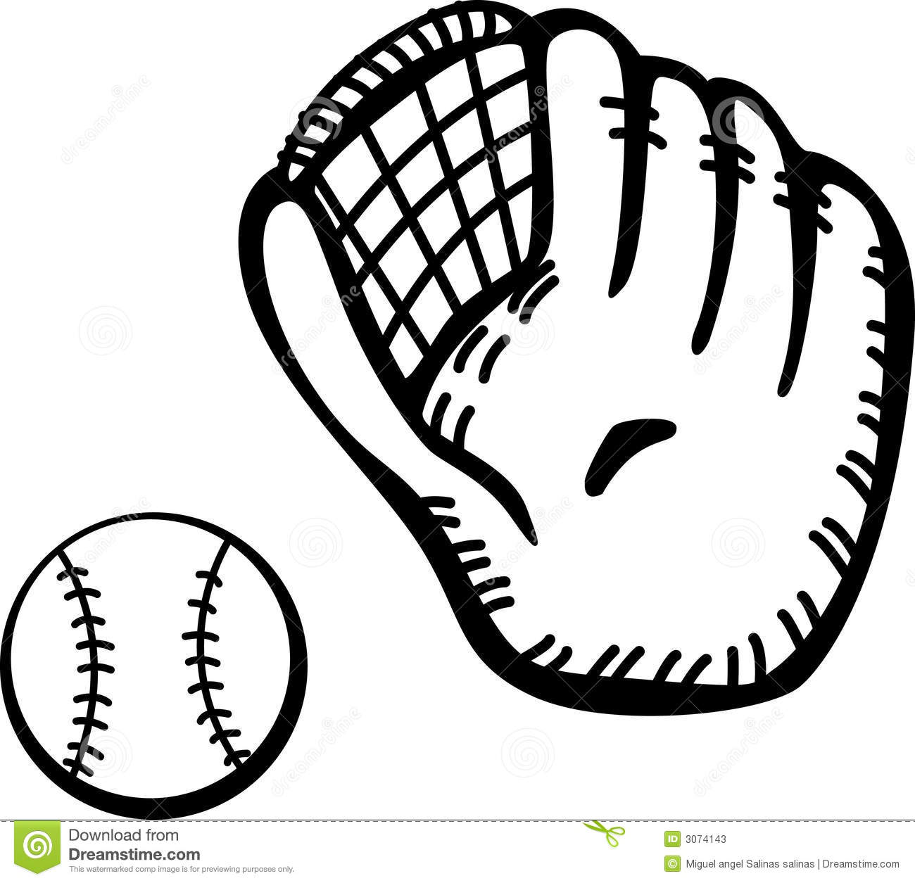 Softball Clipart Images