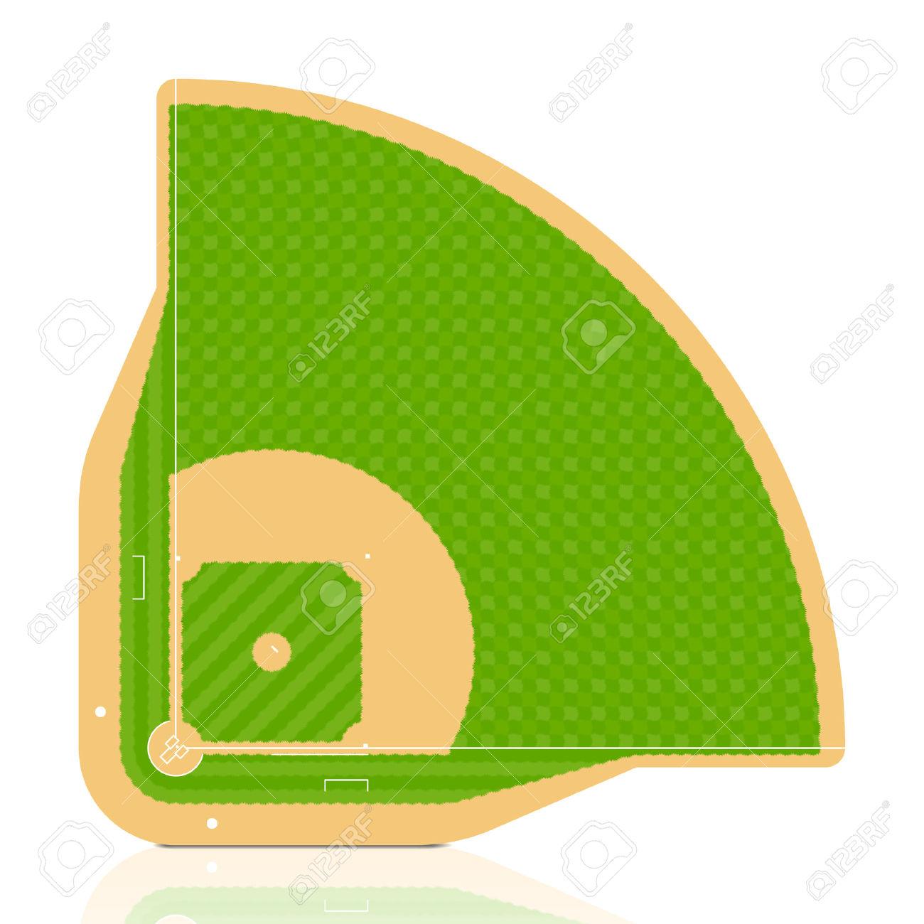 1300x1300 Grass Clipart Baseball Field