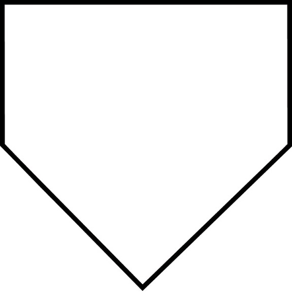 575x600 Baseball Diamond Baseball Field Clip Art 1 2