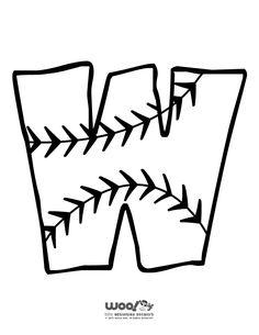 236x305 Printable Baseball Alphabet Letters Baseball Alphabet Letter S