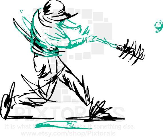 570x479 Baseball Softball Clip Art Of Batter's Swing Png