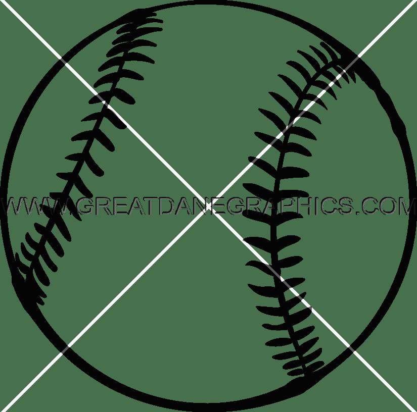 825x816 Softball Production Ready Artwork For T Shirt Printing