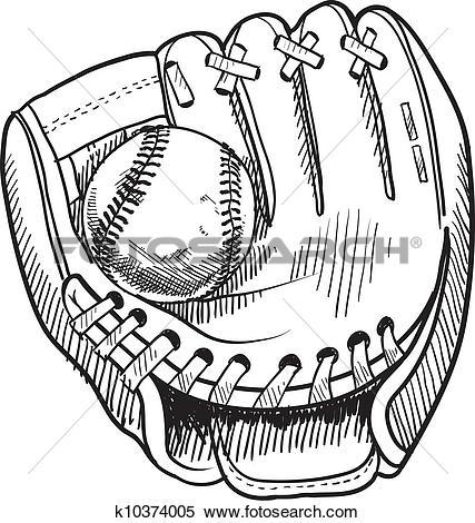 427x470 Softball Glove Clipart 101 Clip Art