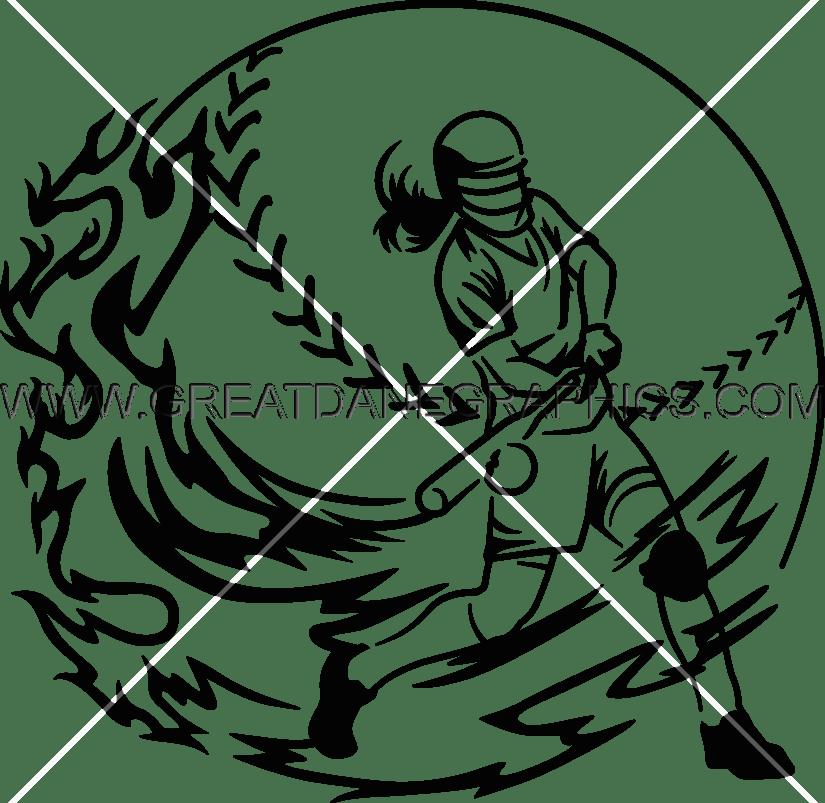 825x803 Softball Swing Production Ready Artwork For T Shirt Printing