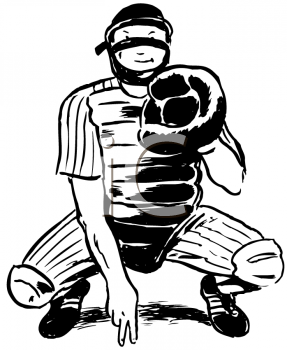 287x350 Catcher Softball Clipart, Explore Pictures