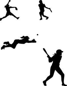 236x303 Girl Softball Pitcher Clipart