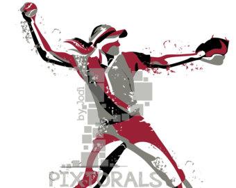 340x270 Softball Pitcher Etsy
