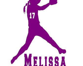 340x270 Softball Girl Batter Clipart