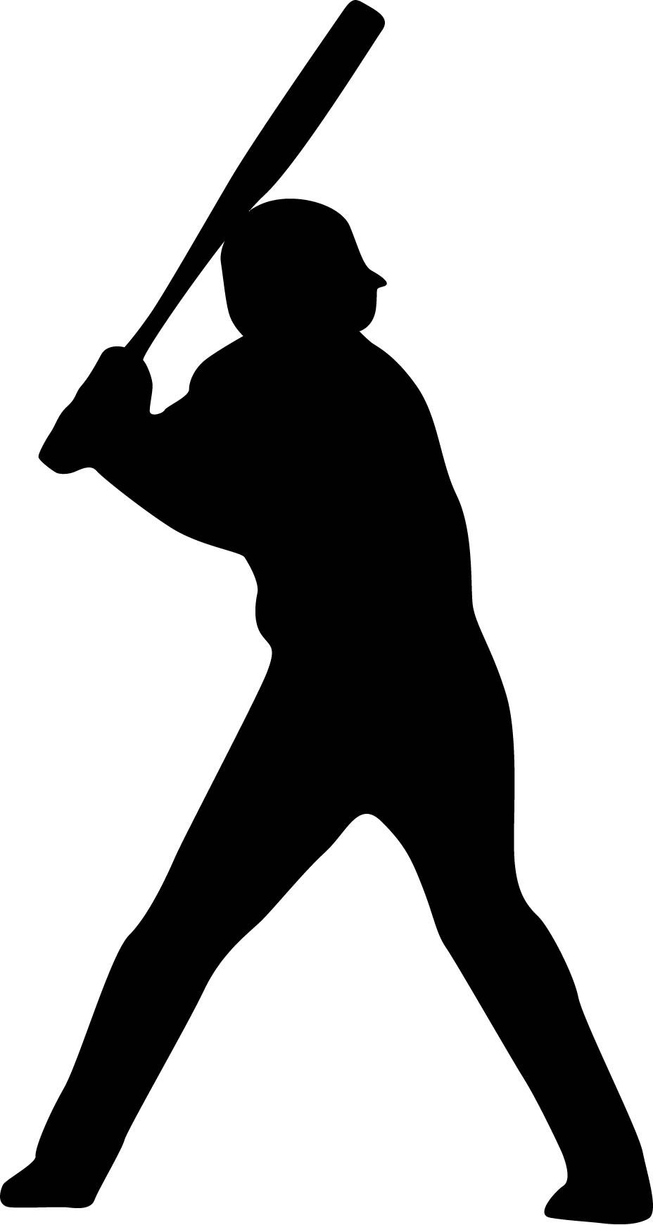 928x1740 Baseball Player The World Cliparts