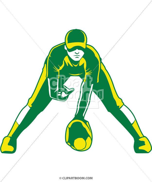 625x750 Vector Softball Clip Art Designs