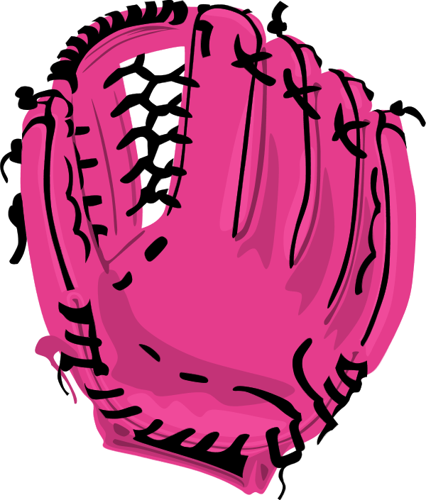 Softball love. Vector clipart free download