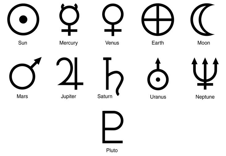 732x505 Solar System Symbols Galleries