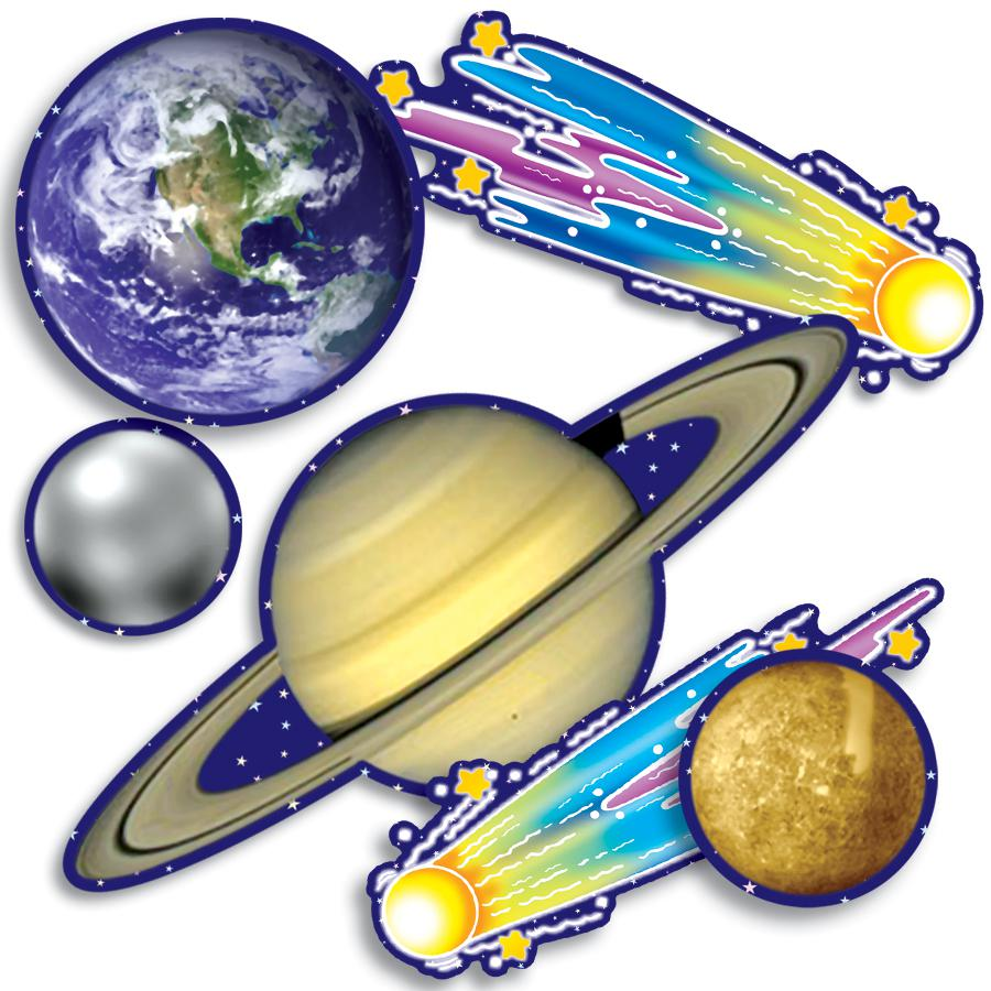 900x900 Accent Punch Outs Solar System 93 Pieces Mini Bulletin Board Set