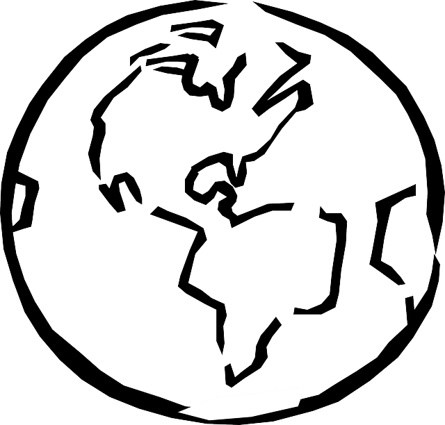640x612 Earth Clipart Outline