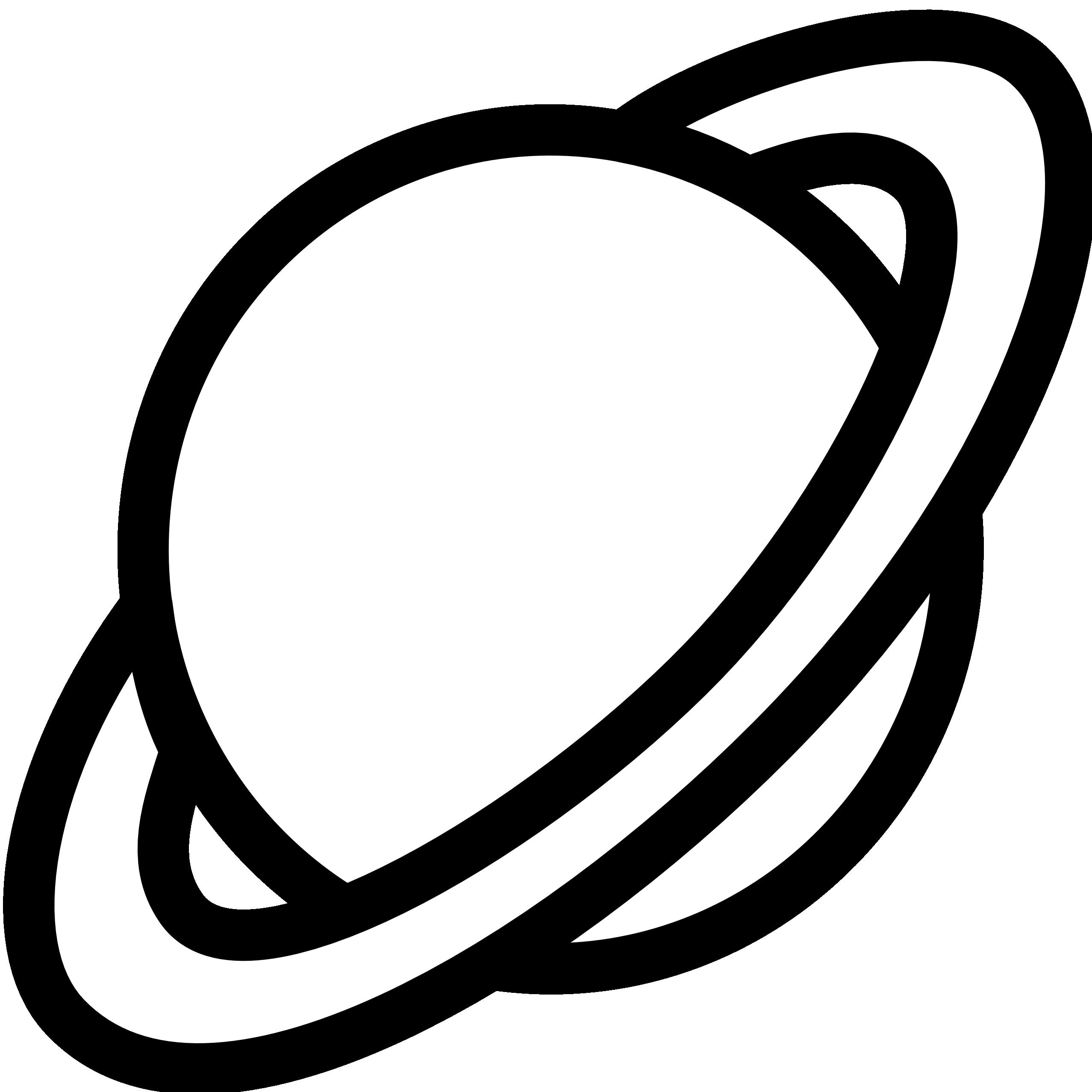 2555x2555 Planets Clip Art Black And White Clipart Panda