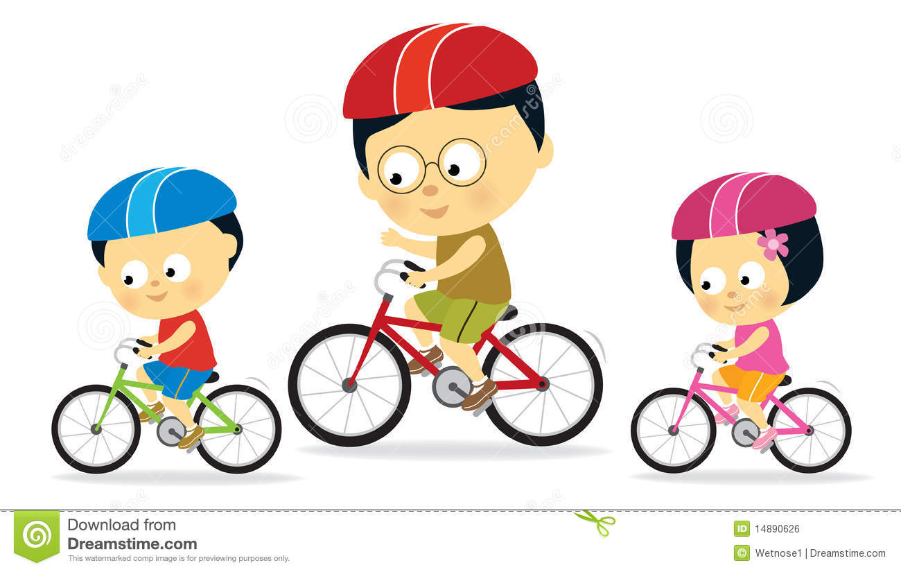 1300x825 Bicycle Clipart Child Riding