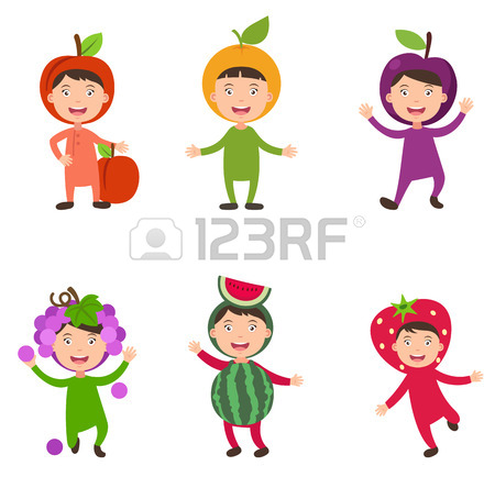 450x434 Illustration Of Isolated Set Costumes Solar System Kids On White