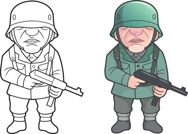 612x438 Soldier Clipart German Soldier