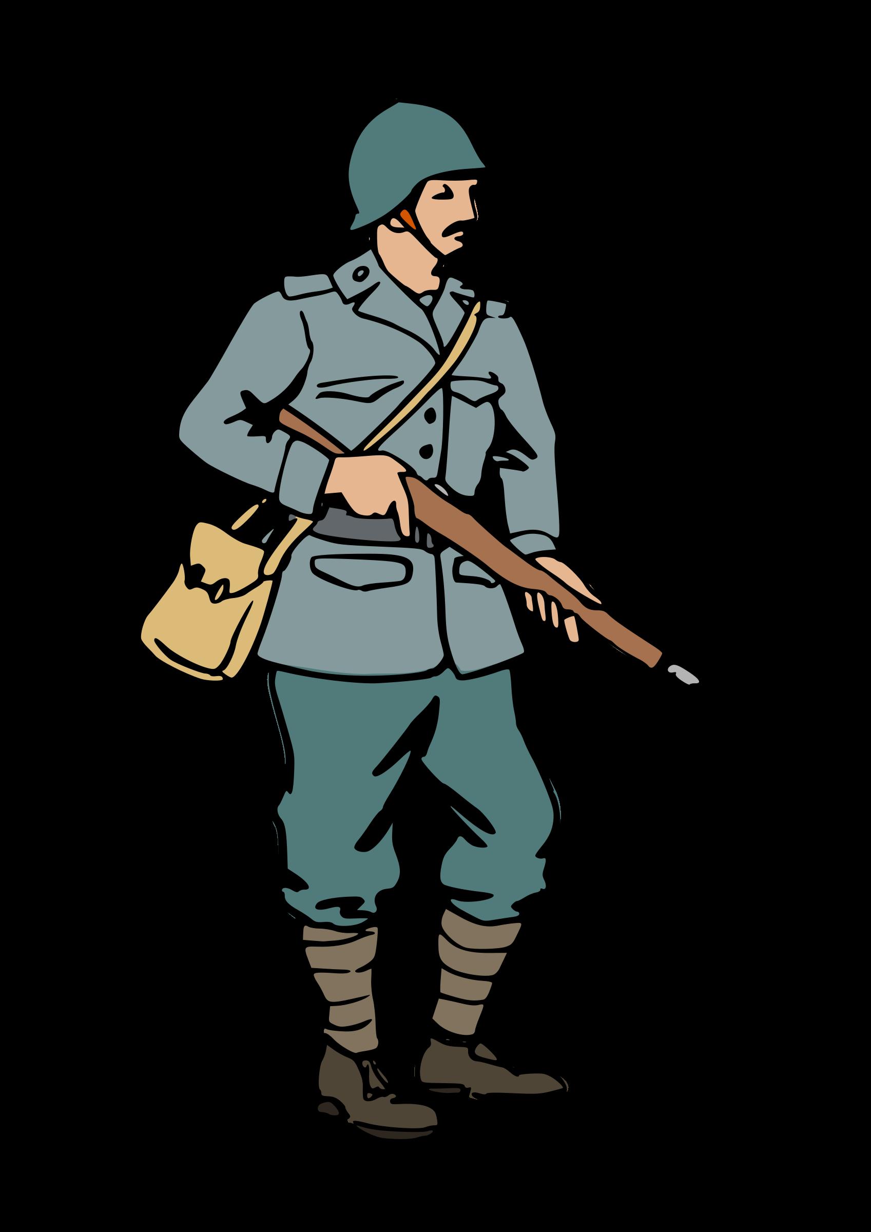1697x2400 Soldier Clipart Ww1 Soldier