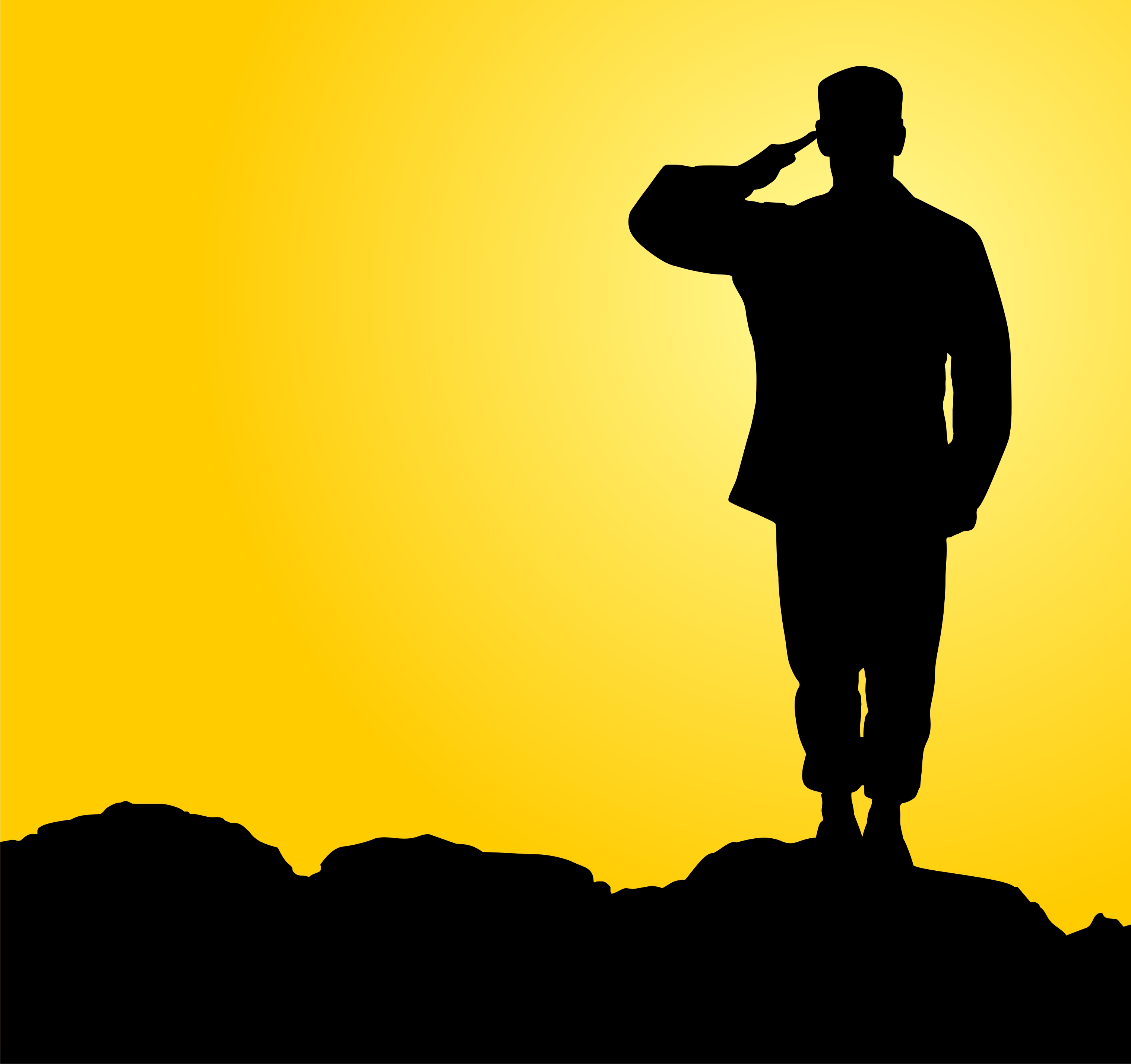 Soldier Saluting Cliparts