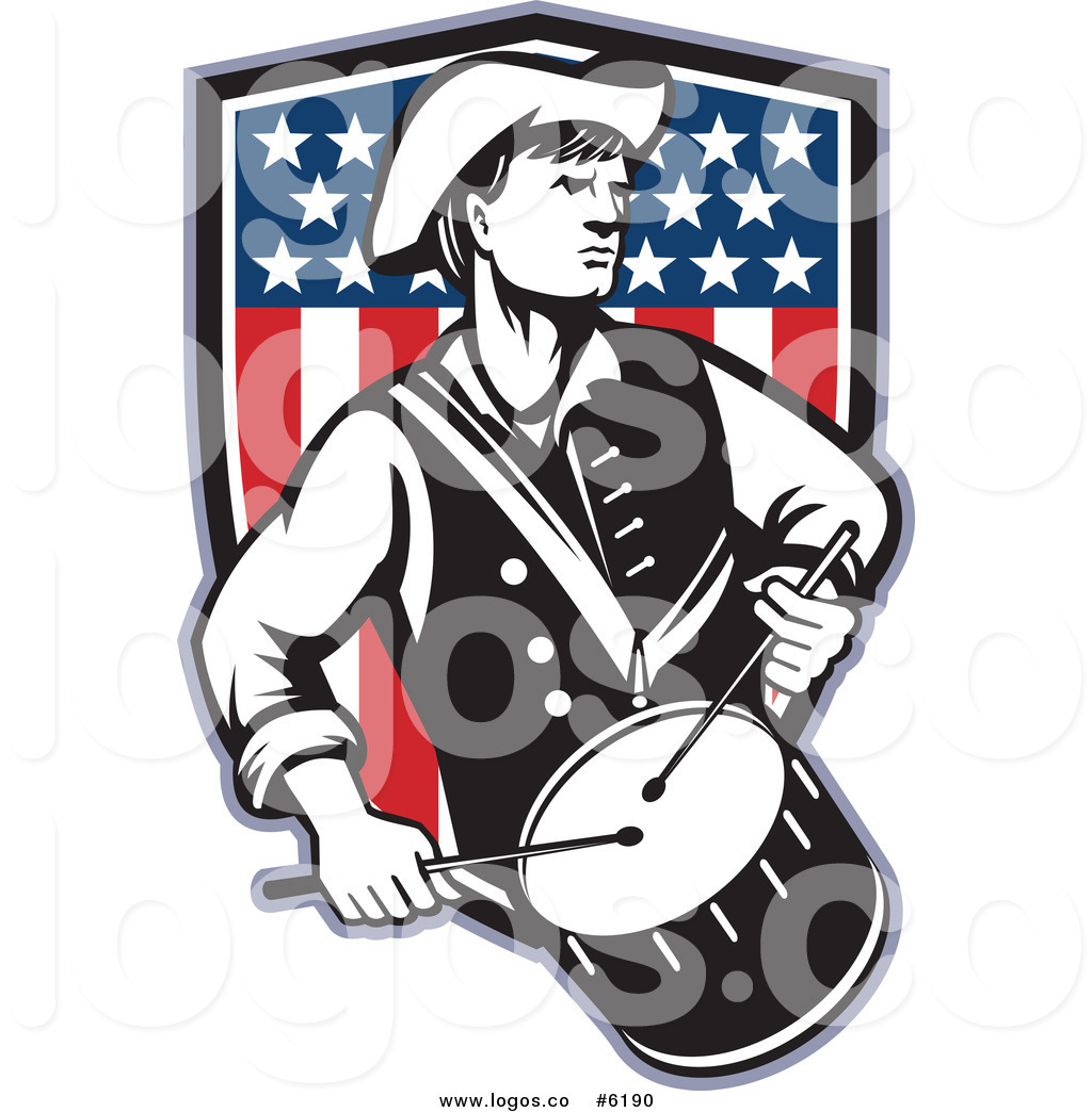 1024x1044 Royalty Free Clip Art Vector Logo Of An American Revolutionary War