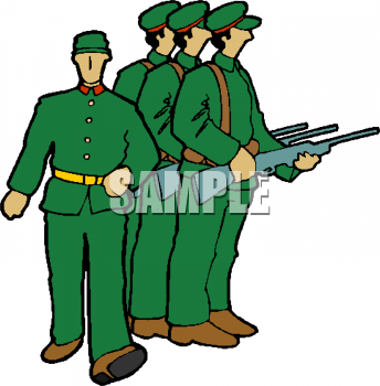 344x350 Royalty Free Soldier Clip Art, People Clipart