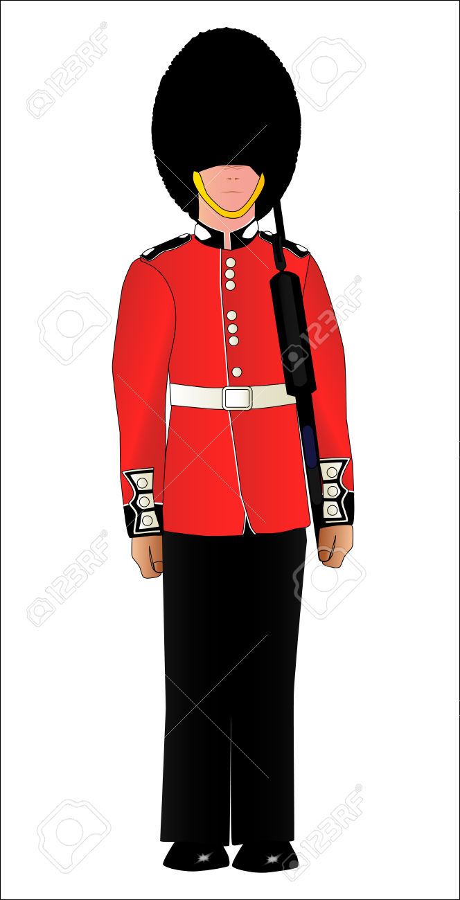 664x1300 Soldiers Clipart English Soldier