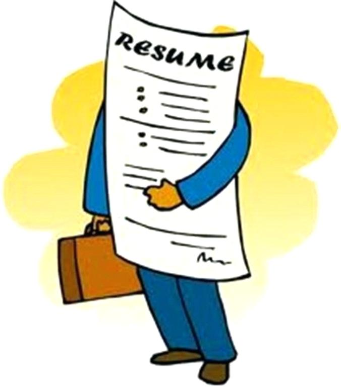 676x773 Resume Clip Art