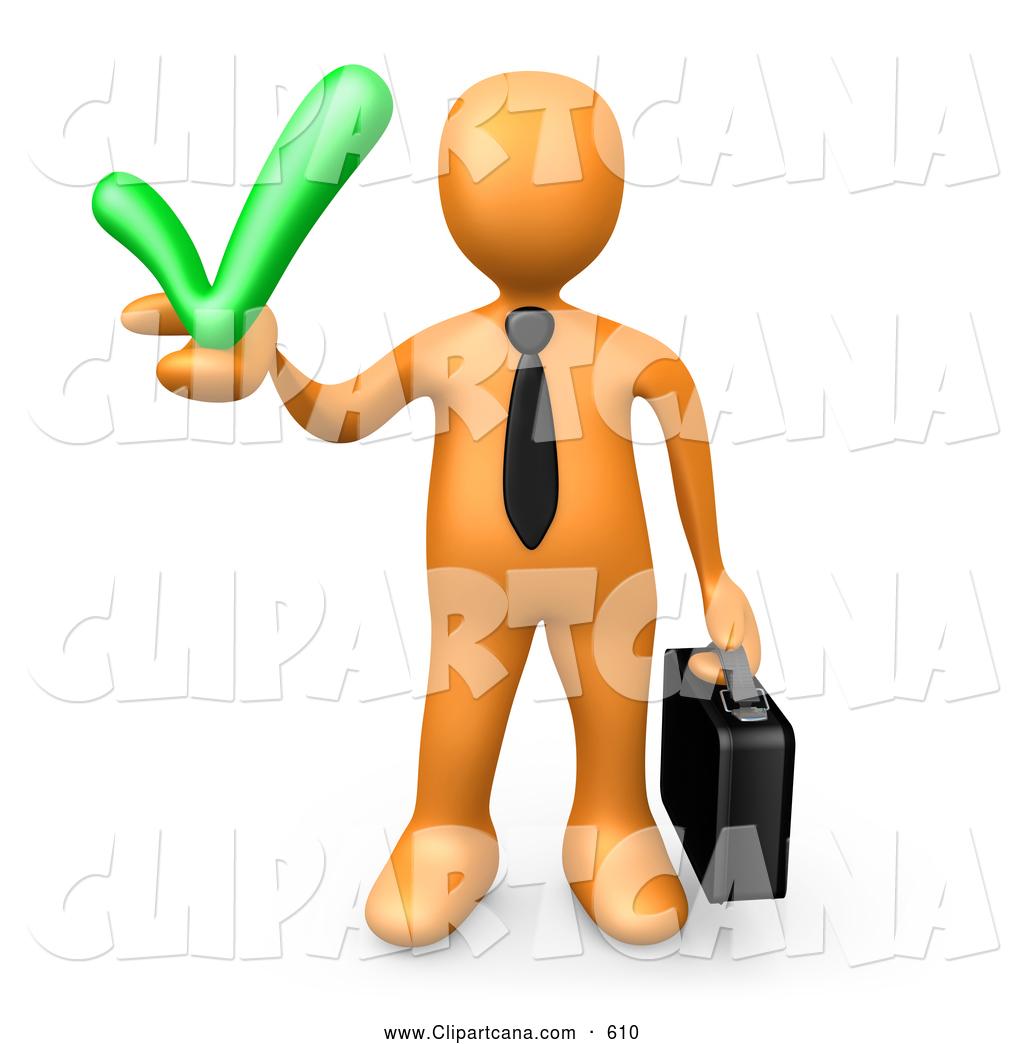 1024x1044 Solution Clipart Clip Art Of A Friendly Orange Business Man
