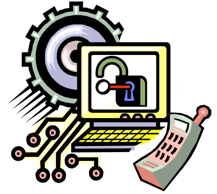 748x667 Clip Art Of Technology Devices Clipart