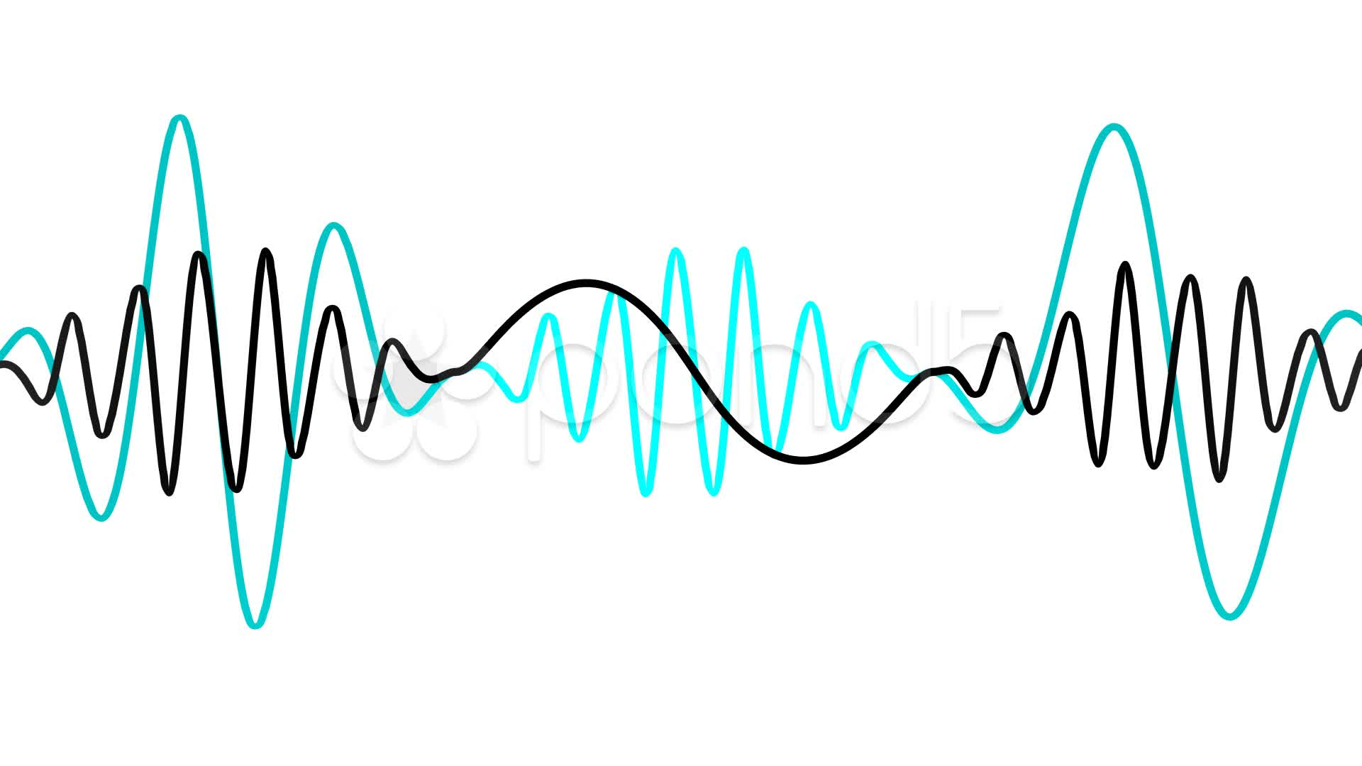 1920x1080 Sound Waves Clipart