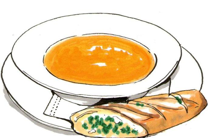 685x456 Soup Clipart Soup Bread