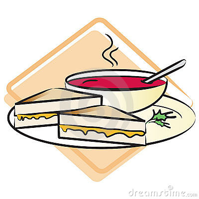 400x400 Chicken Soup Clipart Soup Sandwich