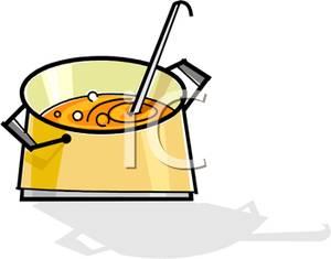 300x235 Art Image A Ladle In A Soup Pot