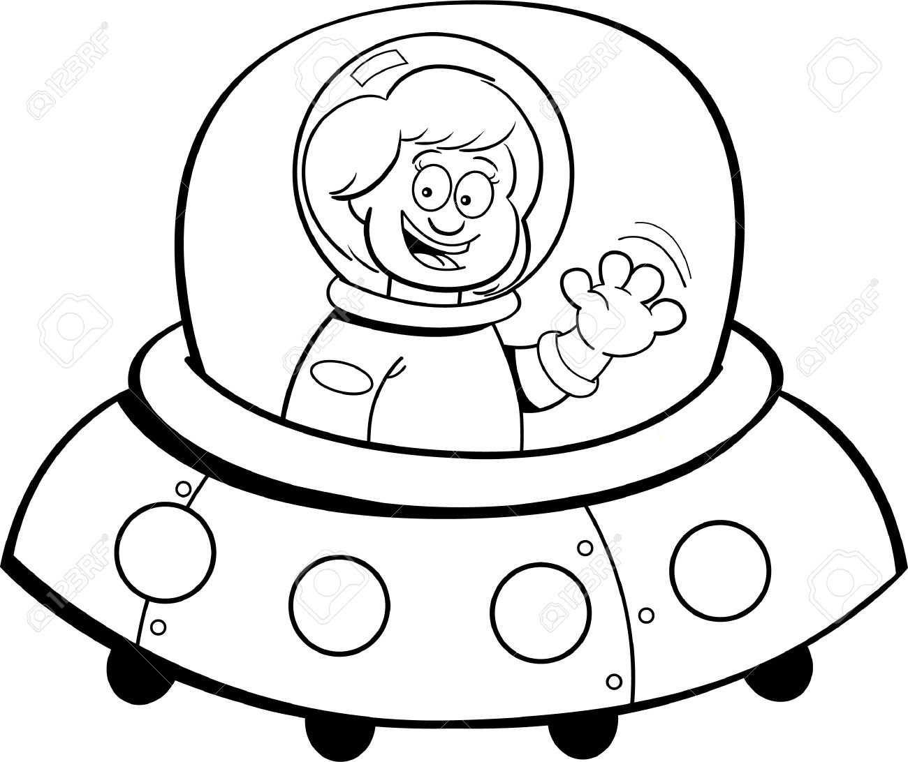 Space Clipart Black And White | Free download on ClipArtMag