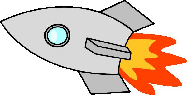 600x304 Rocket Clipart Spaceship