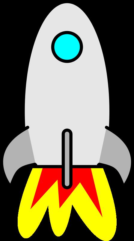 447x800 Silver Clipart Spaceship