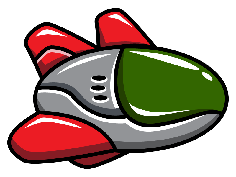 800x600 Spaceship Clipart Cartoon