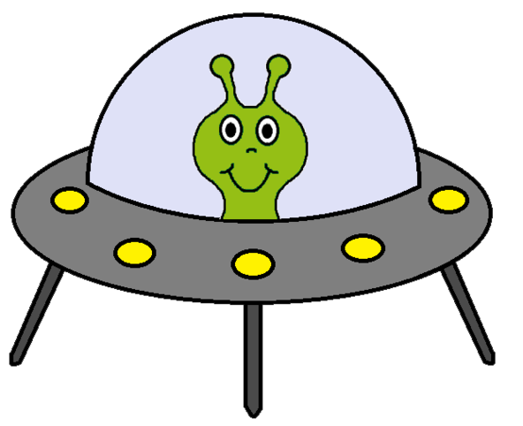 592x482 Alien Clipart Alien Spaceship