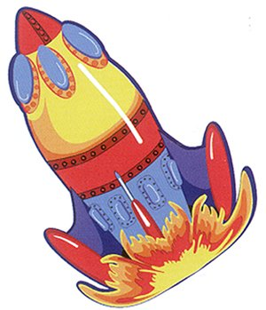 300x349 Space Ship Rocket Shaped Kids Rug 39 X 58 Toys Amp Games
