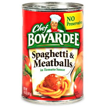 350x350 Chef Boyardee Spaghetti And Meatballs, 15 Oz. Can Chef Boyardee